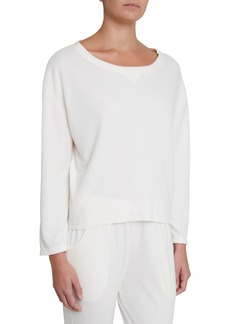 Eberjey Mina Tranquil Long-Sleeve Lounge Top