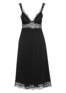 Eberjey Myla Jersey & Lace Nightgown