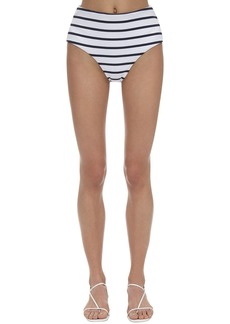 Eberjey Retro Striped Stretch Nylon Rib Bottoms