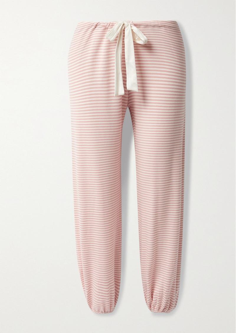 Eberjey Sadie Striped Stretch Modal-jersey Pajama Pants