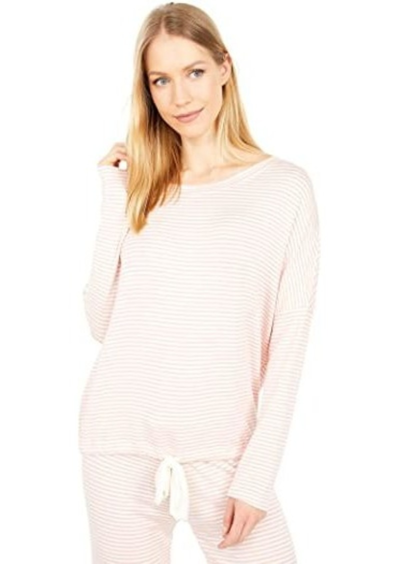 Eberjey Sadie Stripes Slouchy Top