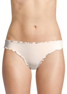 Eberjey Sandy So Solid Ruffled Bikini Bottom