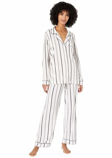 Eberjey Sleep Chic - The Long Boxed Pajama Set