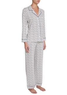 Eberjey Sleep Chic Print Pajama Set