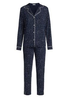 Eberjey Sleep Chic Printed 2-Piece Pajama Set