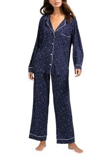 Eberjey Sleep Chic Printed Pajama Set