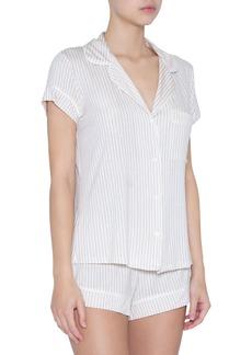 Eberjey Sleep Stripes Shorty Pajama Set