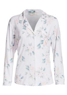 Eberjey Two-Piece Blossom Print Pajama Set