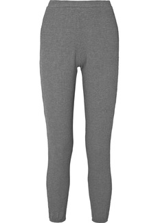 Eberjey Ula Waffle-knit Modal-blend Leggings