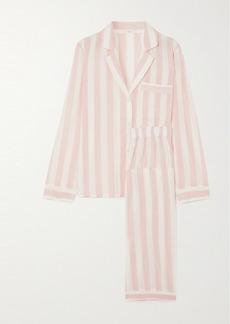 Eberjey Umbrella Stripes Cotton-blend Voile Pajama Set