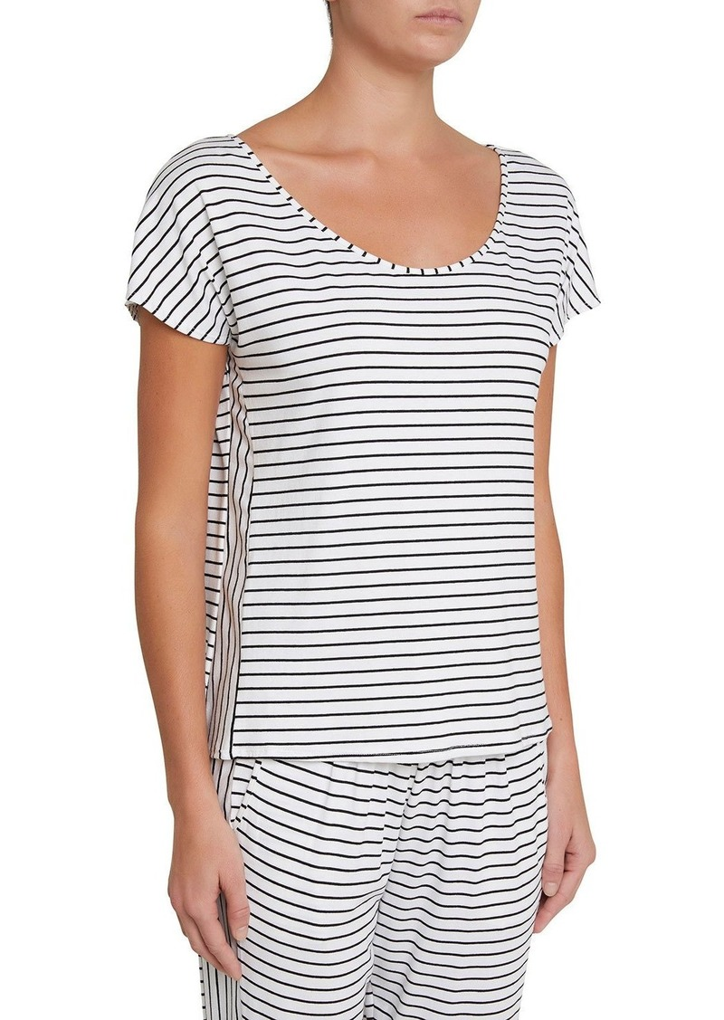 Eberjey Vega Striped Lounge T-Shirt