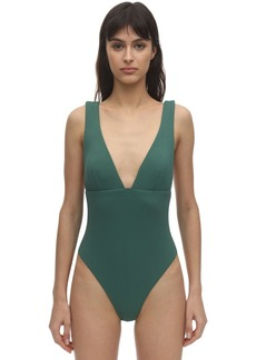 Eberjey Vivian Stretch Piqué One Piece Swimsuit