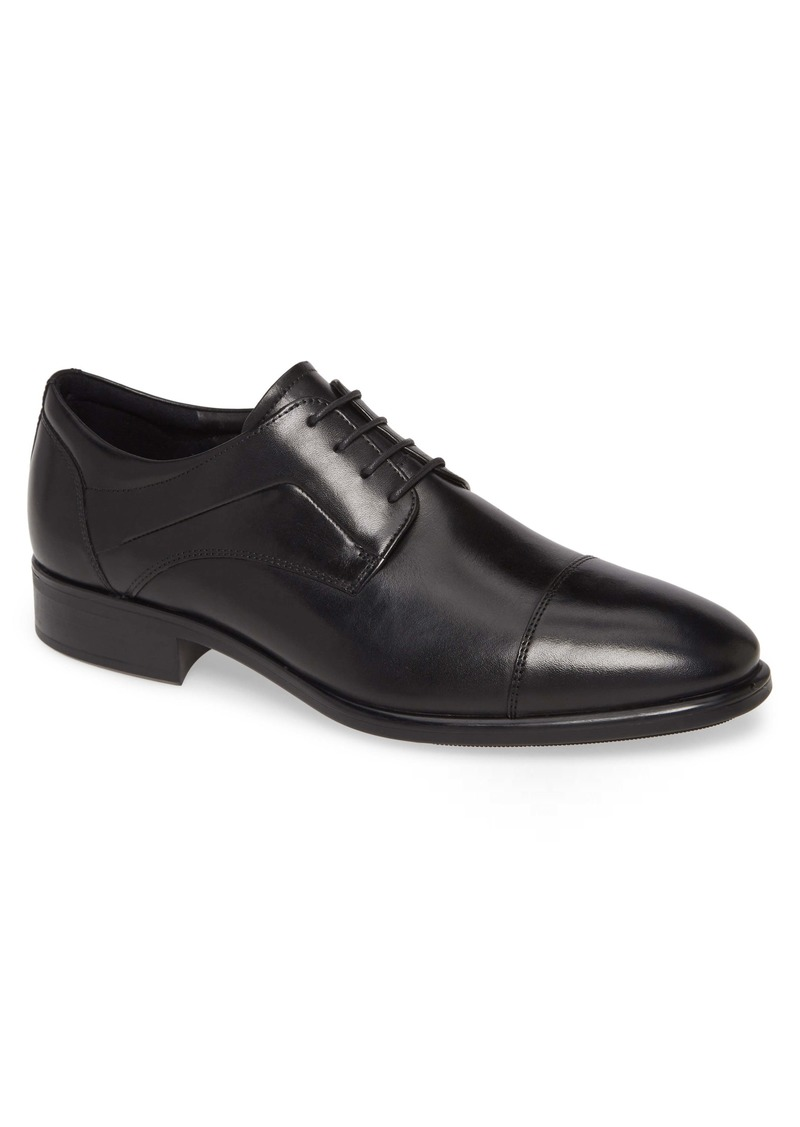 ECCO City Tray Cap Toe Derby (Men)