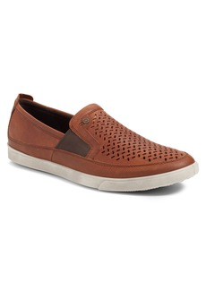 ECCO 'Collin' Perforated Slip On Sneaker (Men)