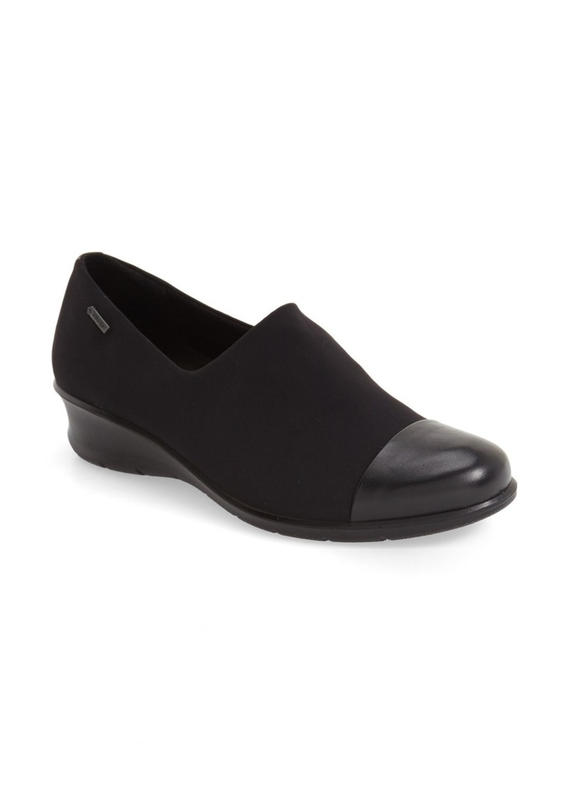 ECCO 'Felicia GTX' Waterproof Wedge Loafer (Women)