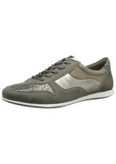 ECCO Footwear Womens Women's Touch Sneaker Tie Warm Grey/Metallic 35 EU/ M US