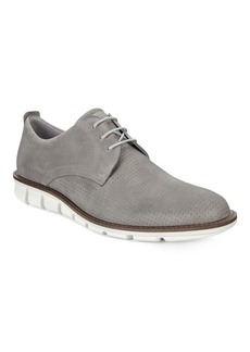 Ecco Jeremy Perforated Lace-Up Shoes