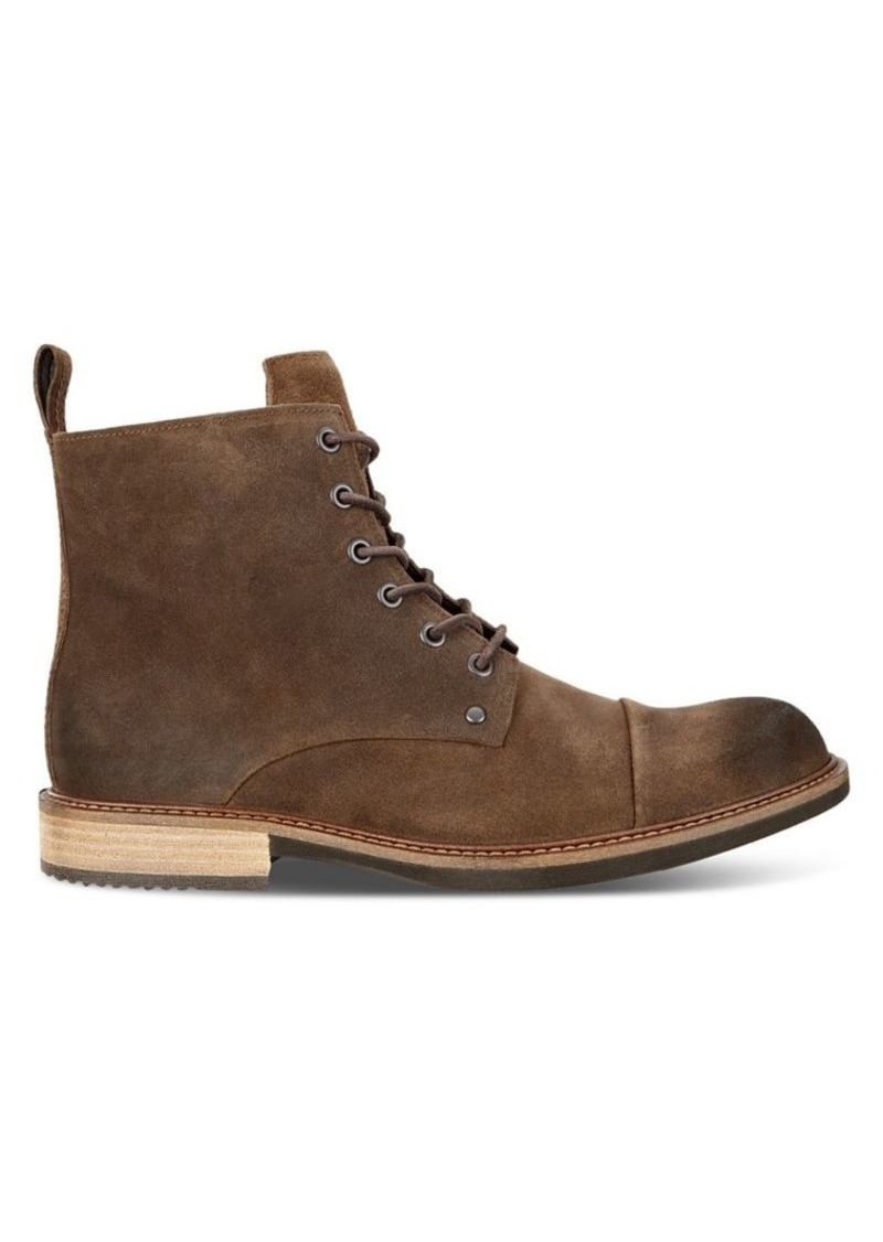 Ecco Kenton Artisan Lace-Up Nubuck Boots