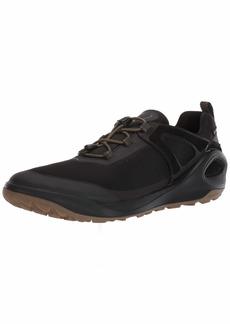 ECCO Men's Biom 2GO Gore-TEX-Waterproof Outdoor Lifestyle Multi-Sport Speed Lace Hiking Shoe Tarmac/Black 46 M EU ( US)