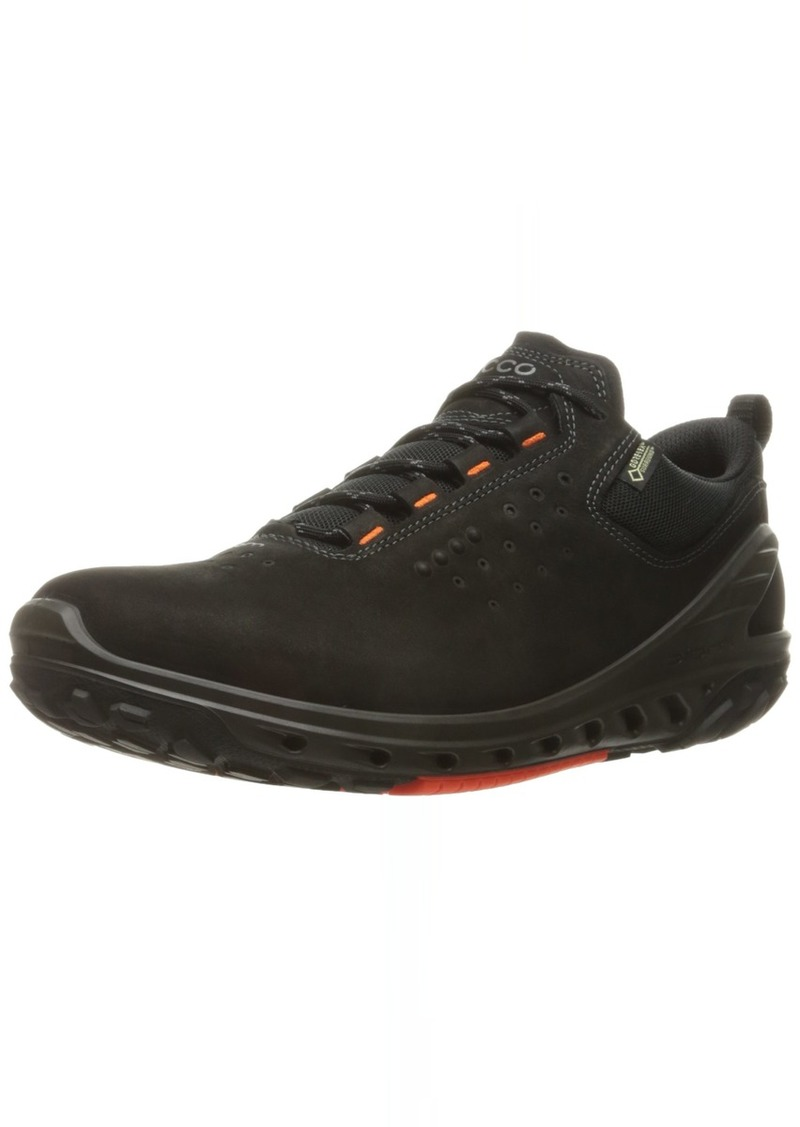 ECCO Men's Biom Venture Leather Gore-TEX Tie Hiking Shoe Black 46 EU/ M US