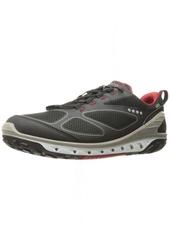 ECCO Men's Biom Venture Textile Gore-TEX Hiking Shoe Black/Brick 41 EU/7-7.5 US