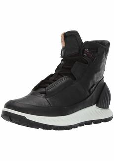 ECCO Men's Exostrike Mid Dyneema Outdoor Lifestyle Fashion Hiking Boot black/black DYNEEMA leather 47 M EU ( US)