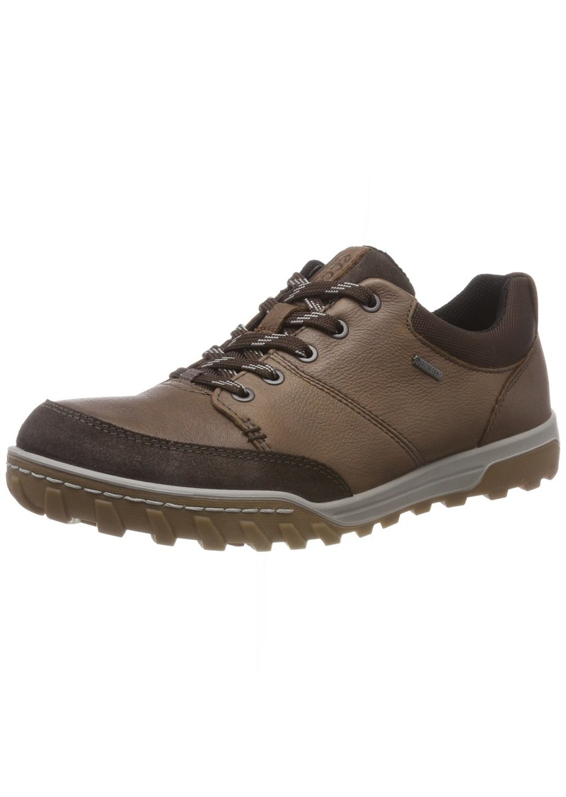 ECCO Men's Goran Gore-TEX Hiking Shoe Cocoa Brown/Licorice ely 41 M EU ( US)