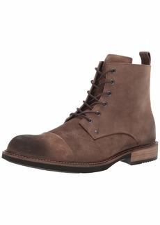 ECCO Men's Kenton Vintage Boot Ankle Cocoa Brown Artisan lace 39 M EU ( US)