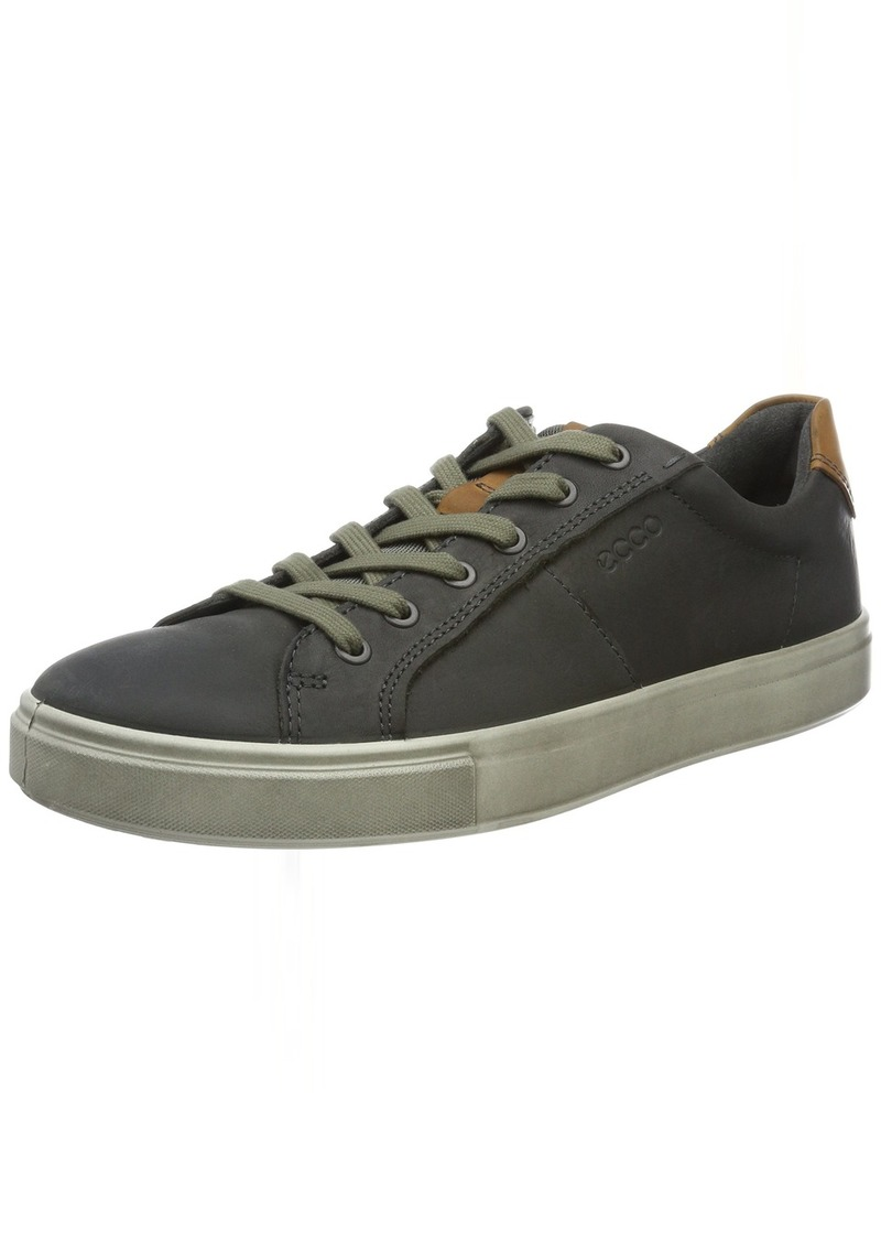 ECCO Men's Kyle Street Tie Fashion Sneaker Titanium with W 39 EU/ M US