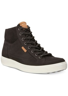Ecco Men's Soft 7 High Top Sneakers Men's Shoes