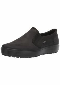 ECCO Men's Soft 7 TRED Gore-TEX Slip On Shoe Black/Black 44 M EU ( US)