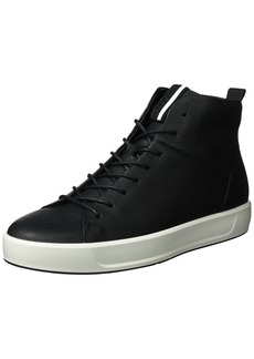 ECCO Men's Soft 8 High Top Fashion Sneaker  39 EU/