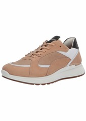 ECCO mens ST1 Trend Sneaker powder/beige/white/Black 7 US medium