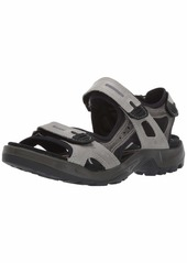ECCO Men's Yucatan Sandal Wild Dove/Dark Shadow  M US