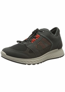 Ecco Outdoor Men's Exostride Summer Trail Sneaker DARK SHADOW/FIRE Vented 8 US medium