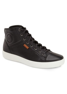 ECCO 'Soft 7' High Top Sneaker (Men)