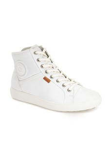 ECCO 'Soft 7' High Top Sneaker (Women)