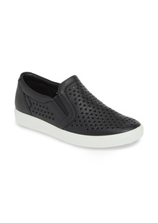 ECCO Soft 7 Laser Cut Slip-On Sneaker (Women)