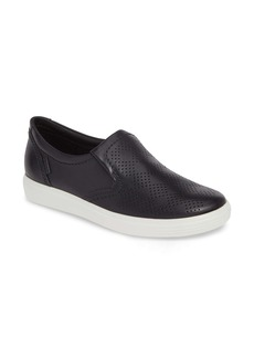 ECCO Soft 7 Perforated Slip-On Sneaker (Women)