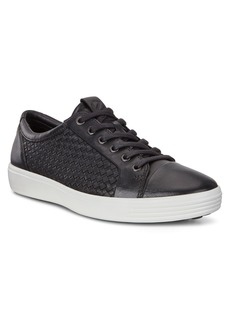 ECCO Soft 7 Plaited Lace-Up Sneaker (Men)