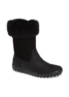 ECCO Soft 7 Tred Waterproof Genuine Shearling Lined Boot (Women)