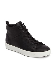 ECCO Soft 8 High Top Sneaker (Women)