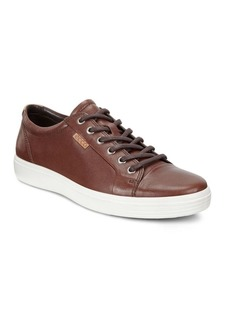 Ecco Soft Leather Sneakers
