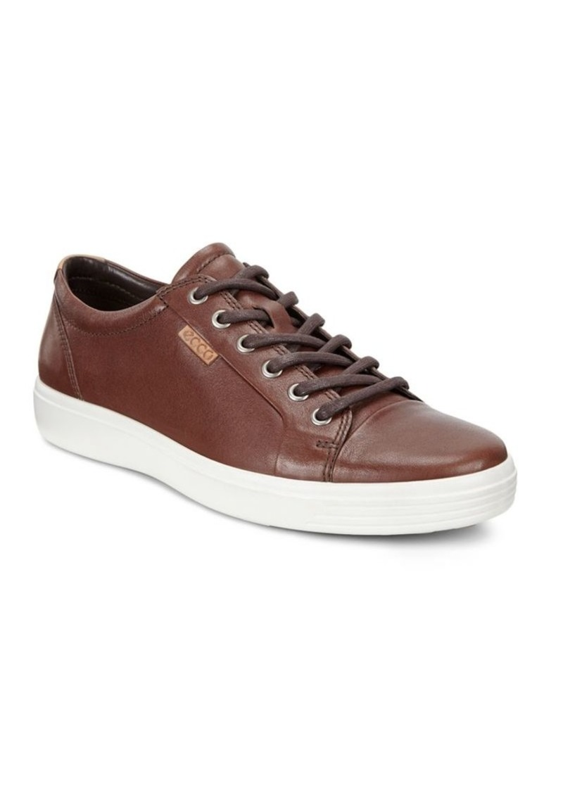 Ecco Soft 7 Leather Sneakers