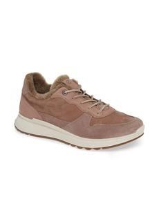ECCO ST1 Genuine Shearling Sneaker (Women)