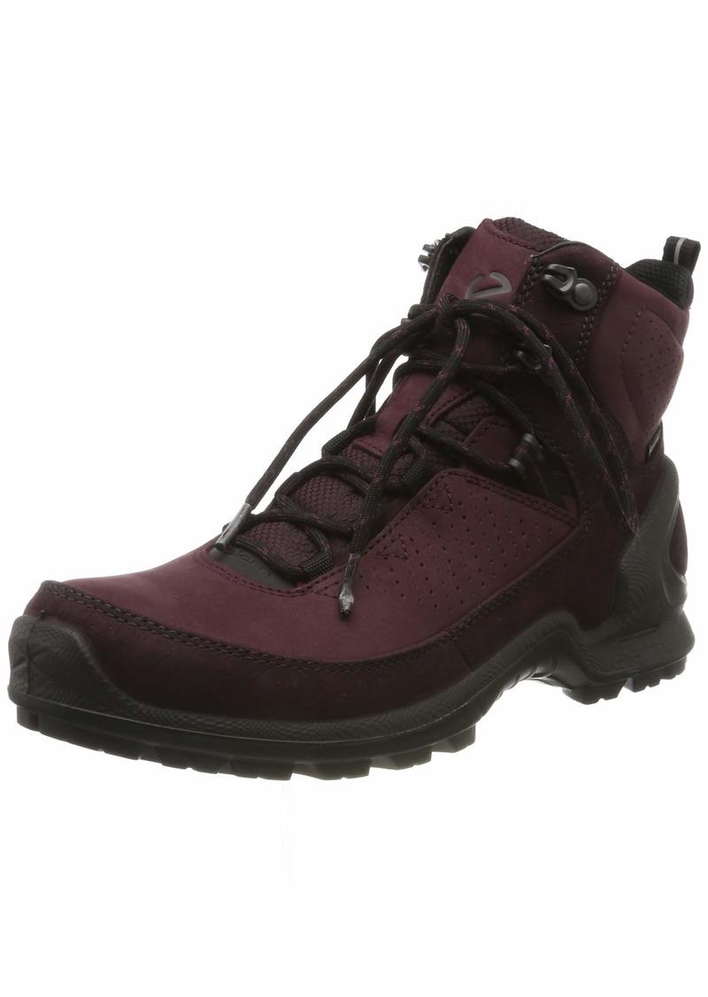 ECCO Women's Biom Terrain GORE-TEX High waterproof Hiking Boot Fig/Wine yak Nubuck 39 M EU ( US)