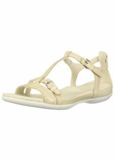ECCO Women's Flash T-Strap Flat Sandal  7-7. 5