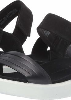 ECCO Women's Flowt Strap Sandal Black 41 M EU ( US)