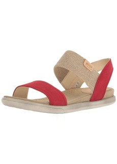 ECCO Women's Women's Damara Ankle Gladiator Sandal  40 EU /  US