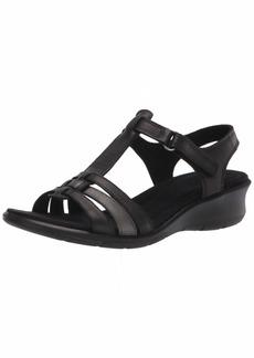 ECCO Women's Finola T-Strap Wedge Sandal